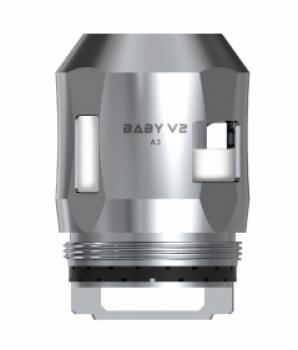 Smok TFV 8 Baby V2 Verdampferköpfe 3 Stück in der gewünschten Variante A1, A2, A3.