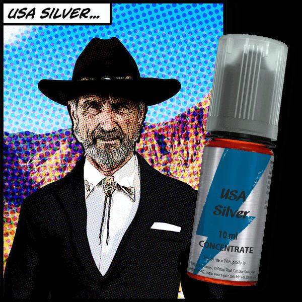 T-Juice USA Silver